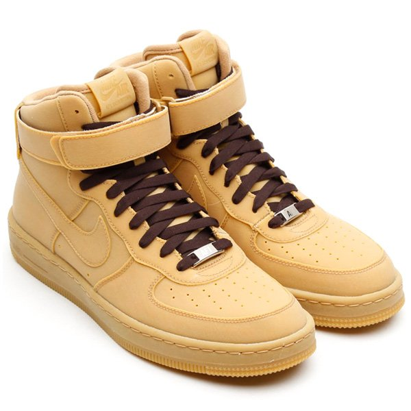 nike force 1 brown