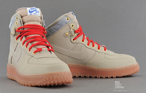 nike air force 1 duckboot beige