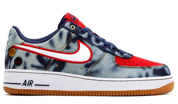 online store e2a6a 9fcb3 Nike Air Force 1 Low Acid Wash Denim Another Look