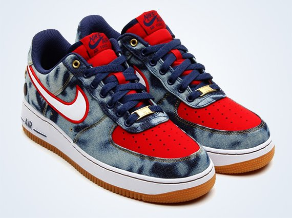 Nike Air Force 1 Low Acid Wash Denim Another Look