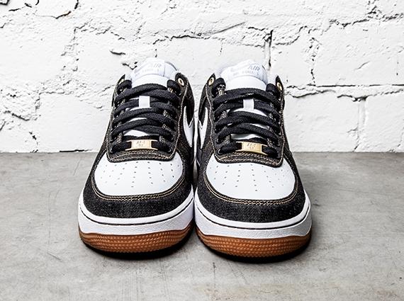Nike Air Force 1 Low '07 Black Denim