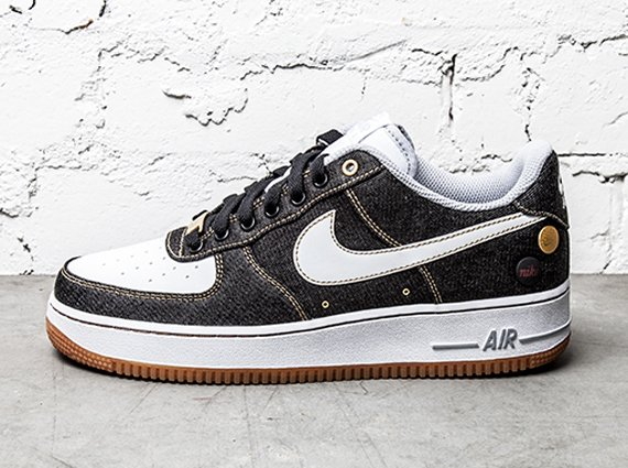 "Aislar yo lavo mi ropa Refrescante  Nike Air Force 1 Low '07 ""Black Denim"" 