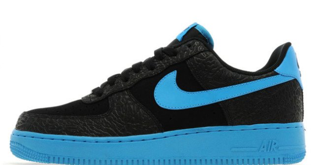 Nike Air Force 1 Low  Black Vivid Blue   879f662fb4