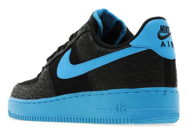 new product 1043a 5d088 Nike Air Force 1 Low  Black Vivid Blue    JD Sports Exclusive