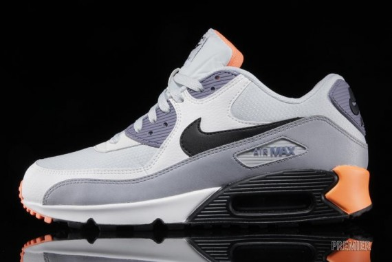 Nike Air Max 90 Essential – Light Base Grey – Iron Purple