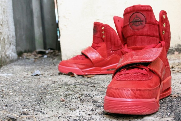 "Nike Air Yeezy 1 ""Incomparable"" by JBF Customs  7beb23dc6"