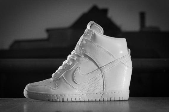 Nike Dunk Sky Hi – White – Cool Grey