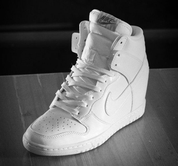 Nike Dunk Sky Hi – White – Cool Grey  66b61e601993