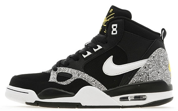 Nike Flight '13 Mid Black White Tropical Yellow Now Available