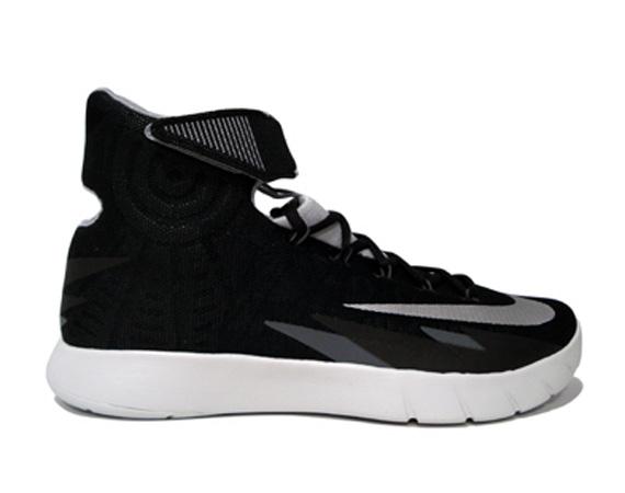 Nike Hyperrev Black Grey Silver