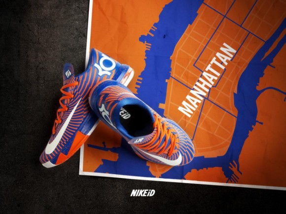 Order JR Smith's Knicks NIKEiD KD 6