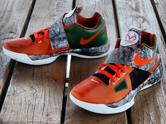 Nike Zoom KD 4 Real Tree Camo Customs by Gourmet Kickz