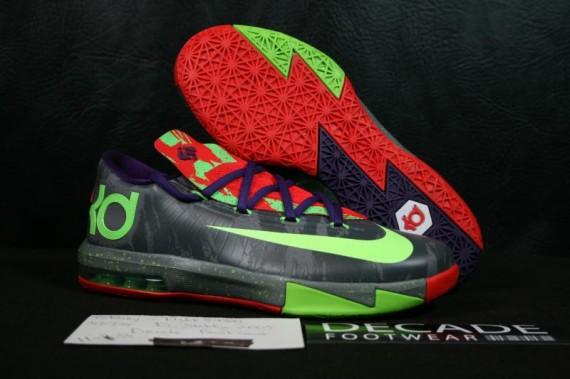 Nike KD 6 GS Energy Detailed Look