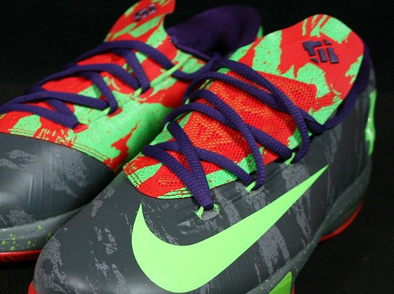 Nike KD 6 GS Energy Detailed Look