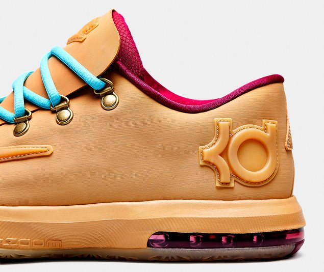 first rate bea32 097f3 new Nike KD VI 6 EXT Gum QS Gum Light Brown Raspberry Red Gum Light Brown