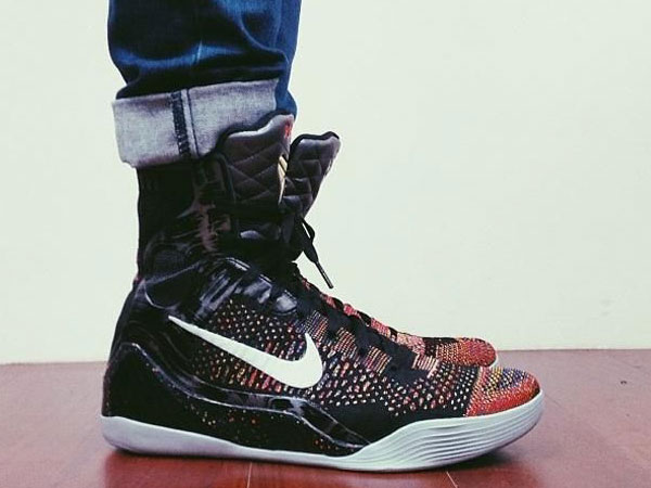 low priced ded05 67b9a nike-kobe-9-on-foot-image-1