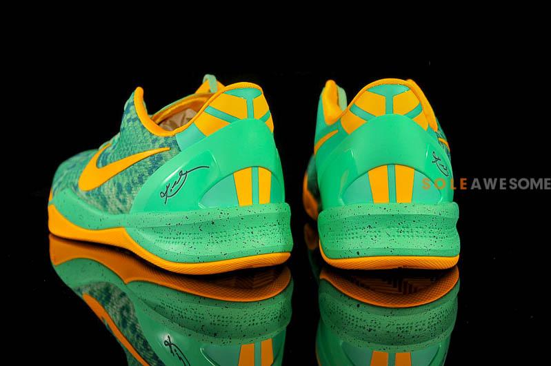 a19bedda8e12 Nike Kobe VIII (8) System  Green Glow Laser Orange-Mineral Teal ...