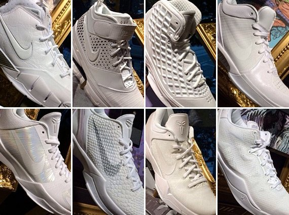 Nike Kobe White Collection