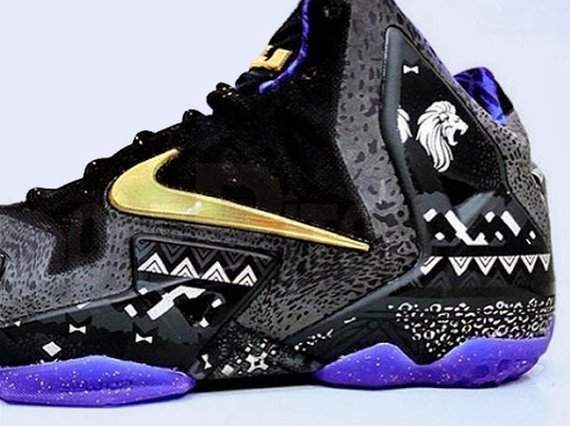 Nike LeBron 11 BHM First Look