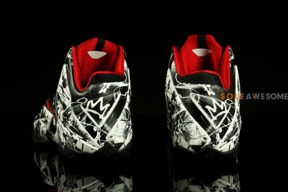 Nike LeBron 11 Graffiti Yet Another Detailed Look