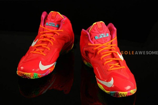 30ec518c079b7 Nike LeBron XI (11) GS  Fruity Pebbles