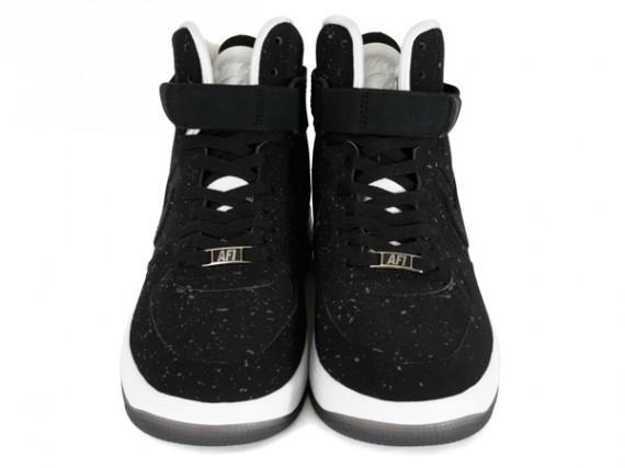 Nike Lunar Force 1 High Speckle Black White