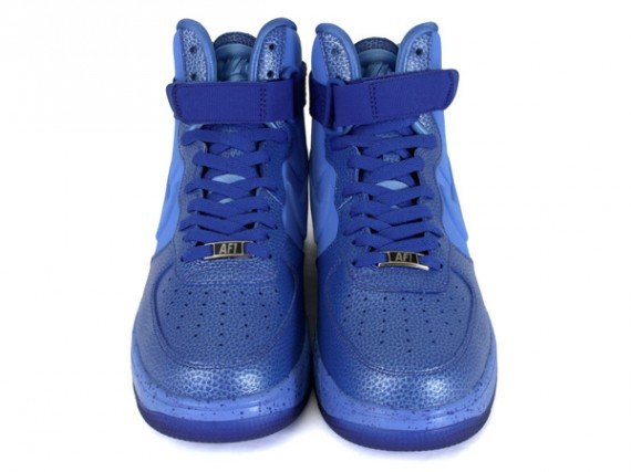 Nike Lunar Force 1 High Speckle Game Royal University Blue