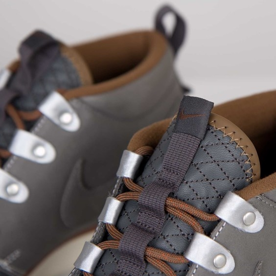 Nike Roshe Run Sneakerboot QS Mercury Grey Now Available