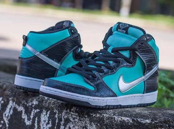 """2ab749a473 Nike SB Dunk High """"Tiffany"""" - Another Look 