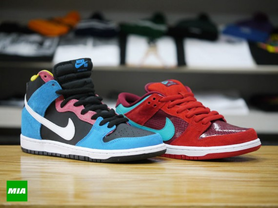 separation shoes 8b405 6e32a Nike SB Dunk – January 2014 Releases | SneakerFiles