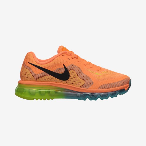 Nike WMNS Air Max 2014  Atomic Orange Black-Volt-Gamma Blue   5b8d1c561