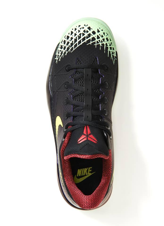 42547630c8d9 Nike Zoom Kobe Venomenon 4  Black Lemon Chiffon-Court Purple ...