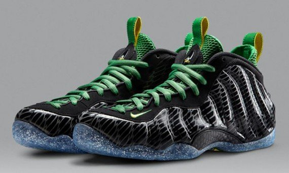 Nike Air Foamposite One Oregon Ducks Release Reminder