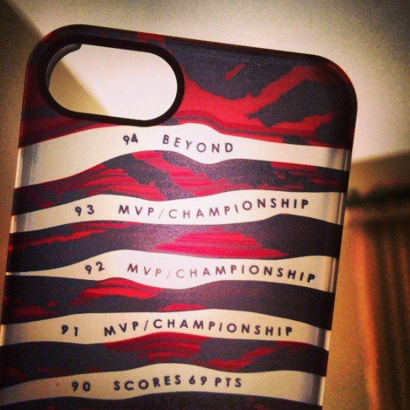 SneakerSt x Uncommon Doernbecher Air Jordan 10 case for iPhone 5s/5/4s/4
