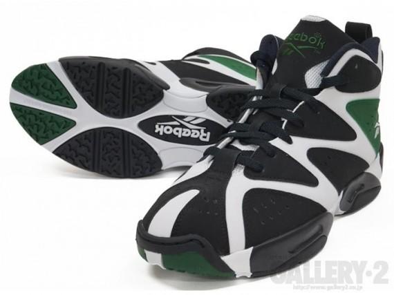 Reebok Kamikaze 1 Mid White Black Green Another Look