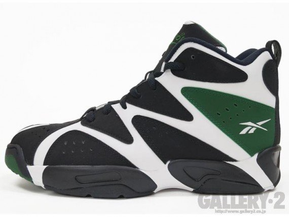 Reebok Kamikaze 1 Mid White Black Green Another Look