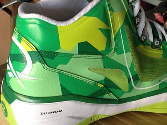 Reebok Q96 Green White