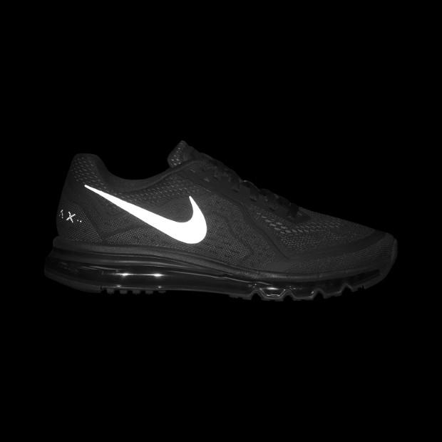 Nike Air Max 2014 Black Anthracite Total Orange