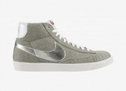 Release Reminder: Nike Blazer Mid PRM VNTG QS 'Granite/Metallic Silver-White'