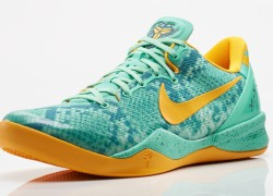 Release Reminder: Nike Kobe System VIII (8) 'Green Glow/Laser Orange-Mineral Teal'