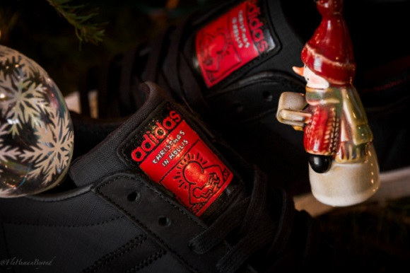 Run DMC x Keith Haring x adidas Originals Superstar 80 Christmas In Hollis Detailed Look