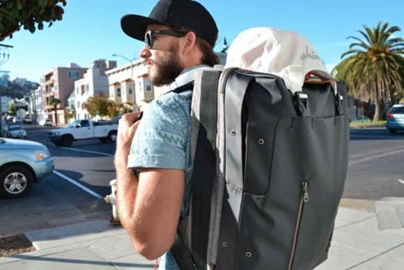 Shrine Rack Sneaker Backpack on Kickstarter