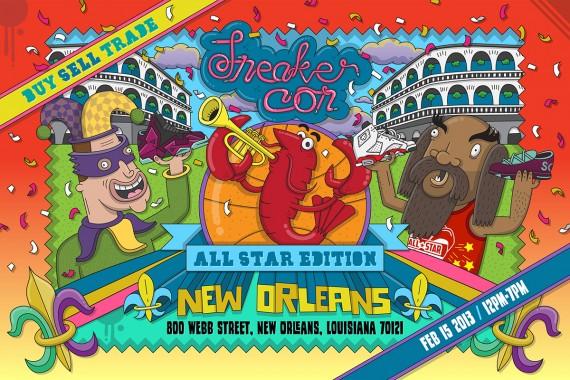 Sneaker Con New Orleans Saturday February 15th 2014