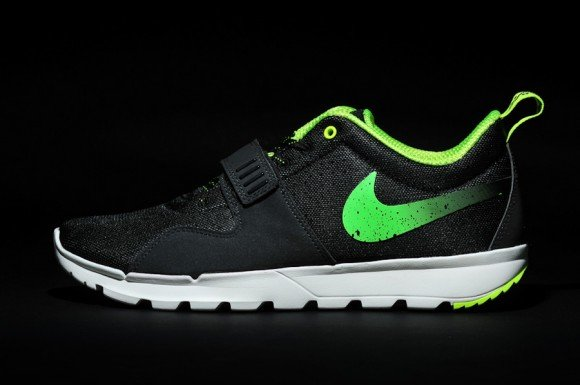 Stussy x Nike SB Trainerendor Black Neon Yet Another Look