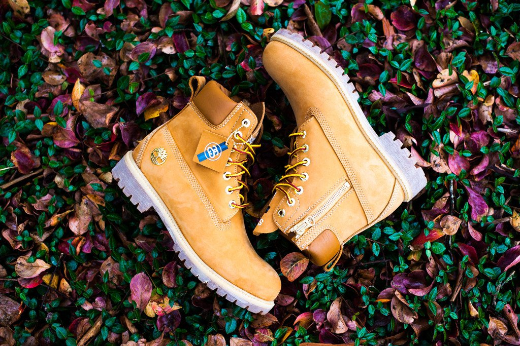 1e6bfdb7 Stussy x Timberland 6″ Boot - Wheat | Now Available | SneakerFiles