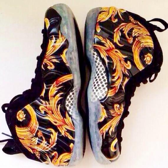 Supreme x Nike Air Foamposite One Black Teaser