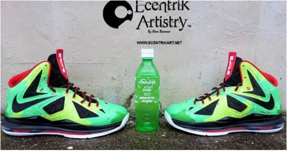Nike LeBron 10 Carbonated Beverage Custom