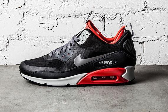 Nike Air Max 90 Sneakerboot Light Crimson
