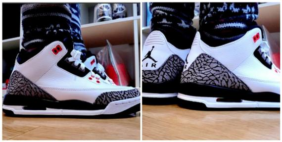 Air Jordan 3 GS Cement Grey