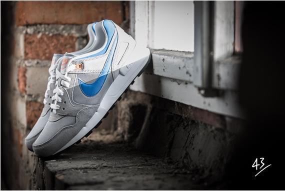 Nike Air Pegasus 89 - Grey/Photo Blue/Atomic Orange